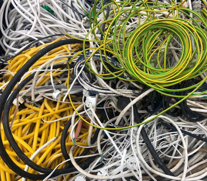 PVC guaina di cavi elettrici